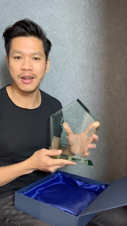 Hoan Luu, Gewinner des Unternehmen Helden Award 2020