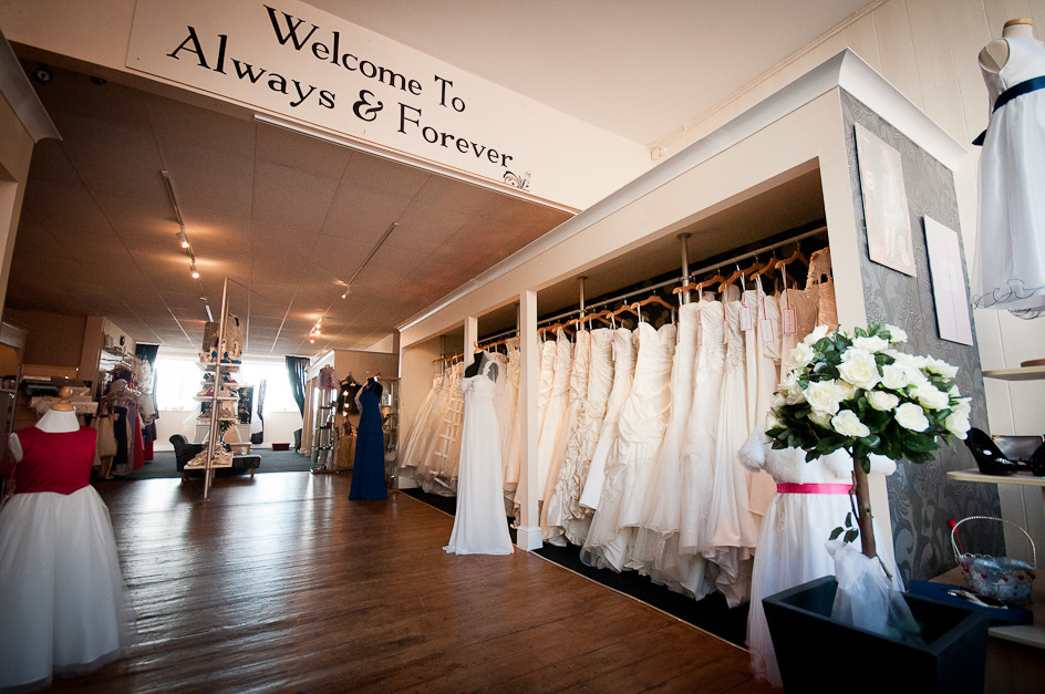 Always and Forever Bridal Shop, Bideford North Devon