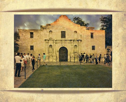 Fort Alamo in Texas