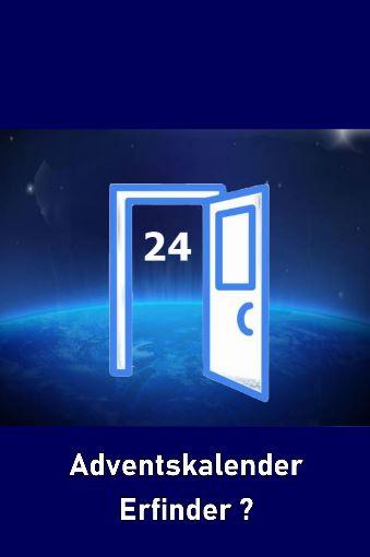 """Dieses Bild zeigt eine offen Tür, die ins Weltall führt. Hinter der Tür erscheint die Zahl """"24"""". Das Bild symbolisiert den Adventskalender."""