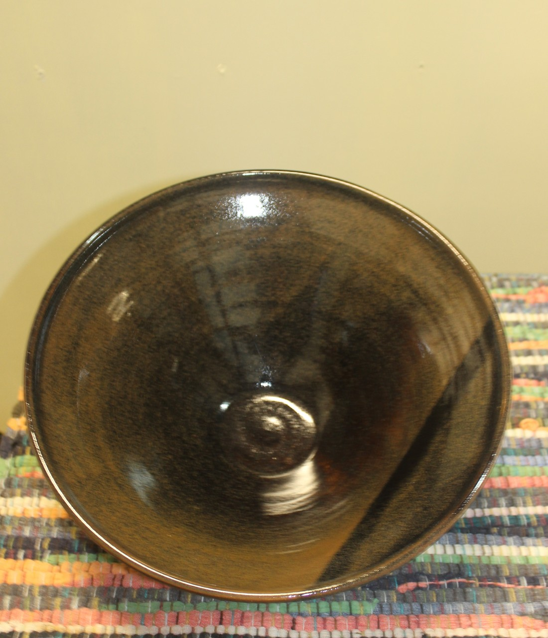 Oversized Serving/Decorative Bowl-inside view