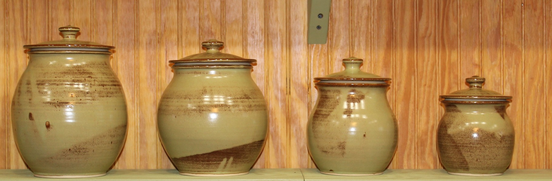 4- Piece Canister Set