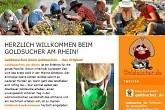 Goldsuche im Altrhein