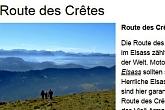 Route des Crêtes, Vogesen