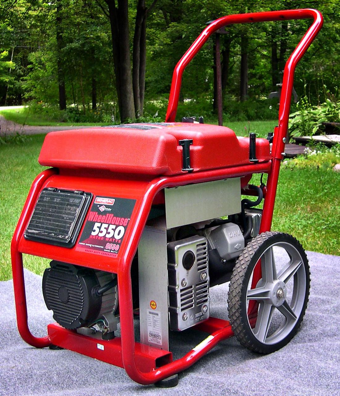 We offer generators if power is needed