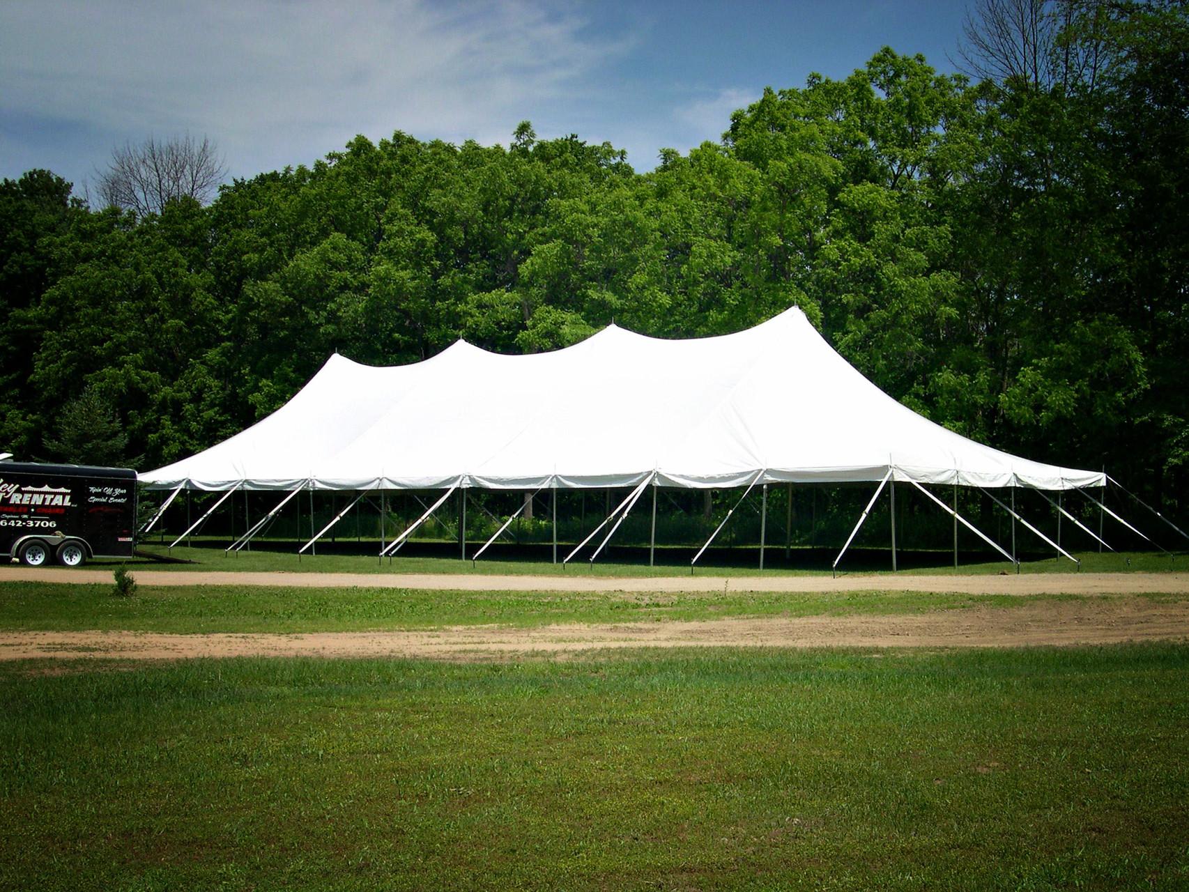 40 x 100 Wedding tent