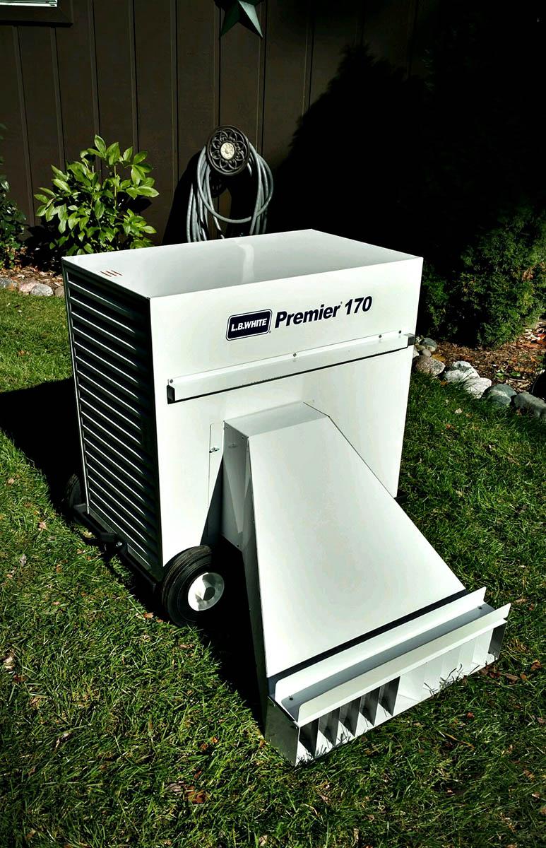 LB White 170,000 BTU propane Tent Heater