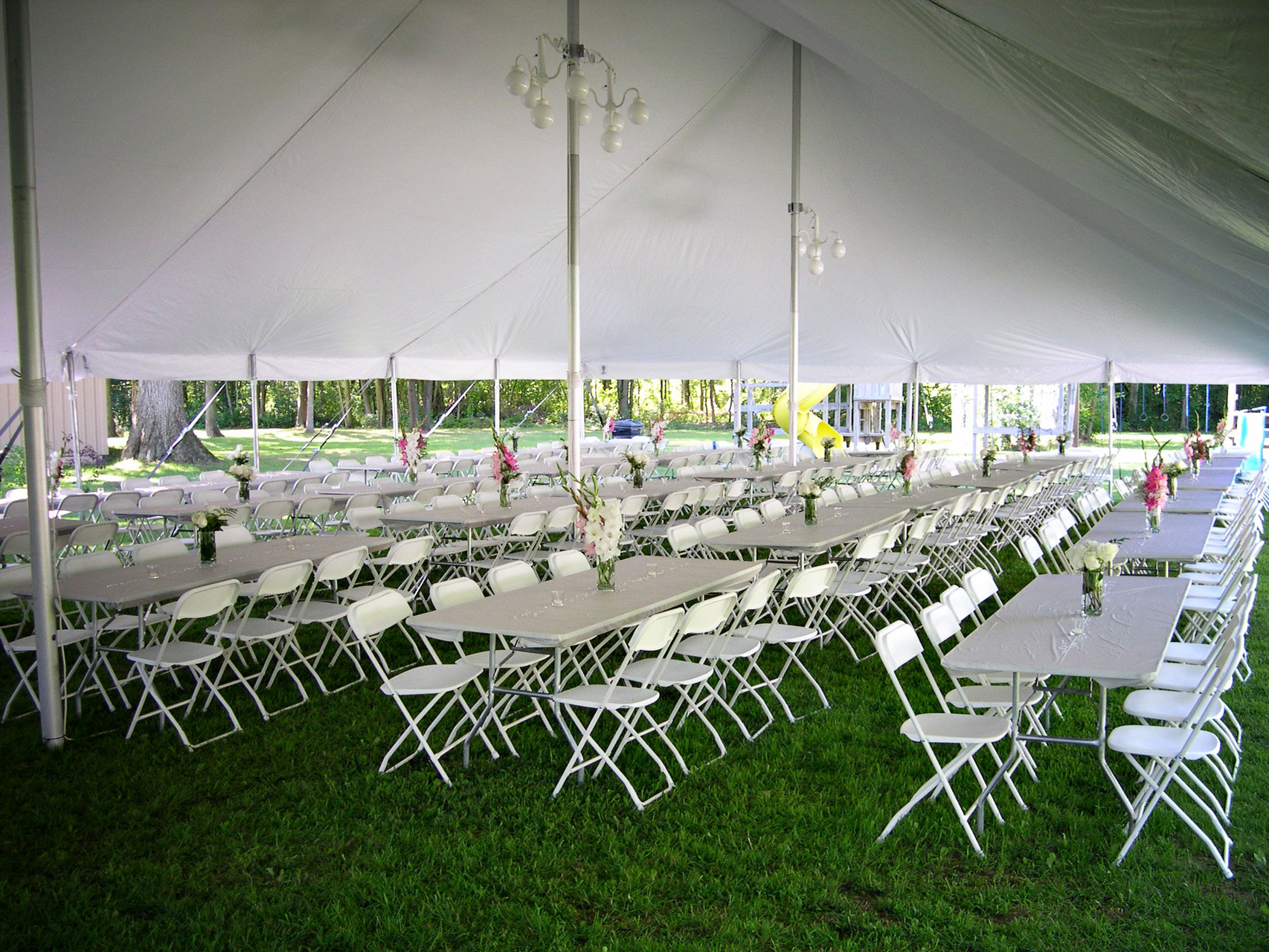 40 x 80 Wedding tent for 200 people