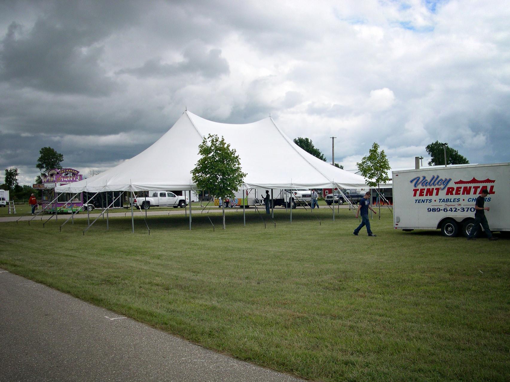 40 x 60 Saginaw County Fair