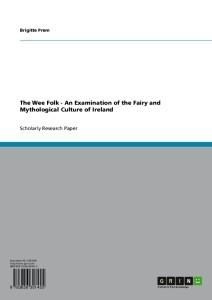 Irische Märchenmotive in der europäischen Erzählkultur