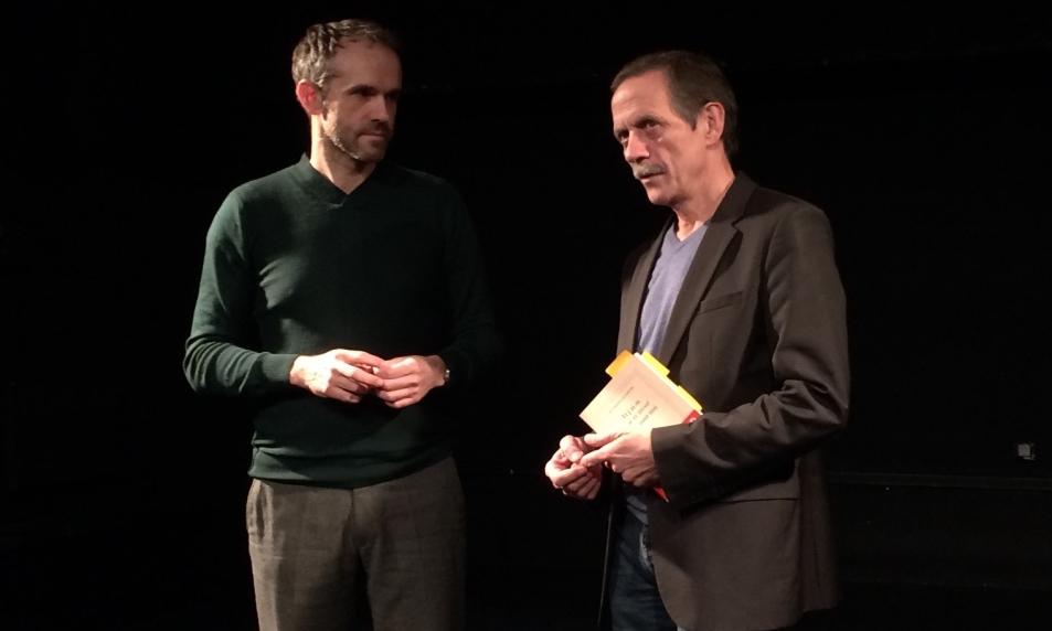 """""""Tête de lecture"""" avec Jean-Marie LACLAVETINE © cie Tête chercheuse"""
