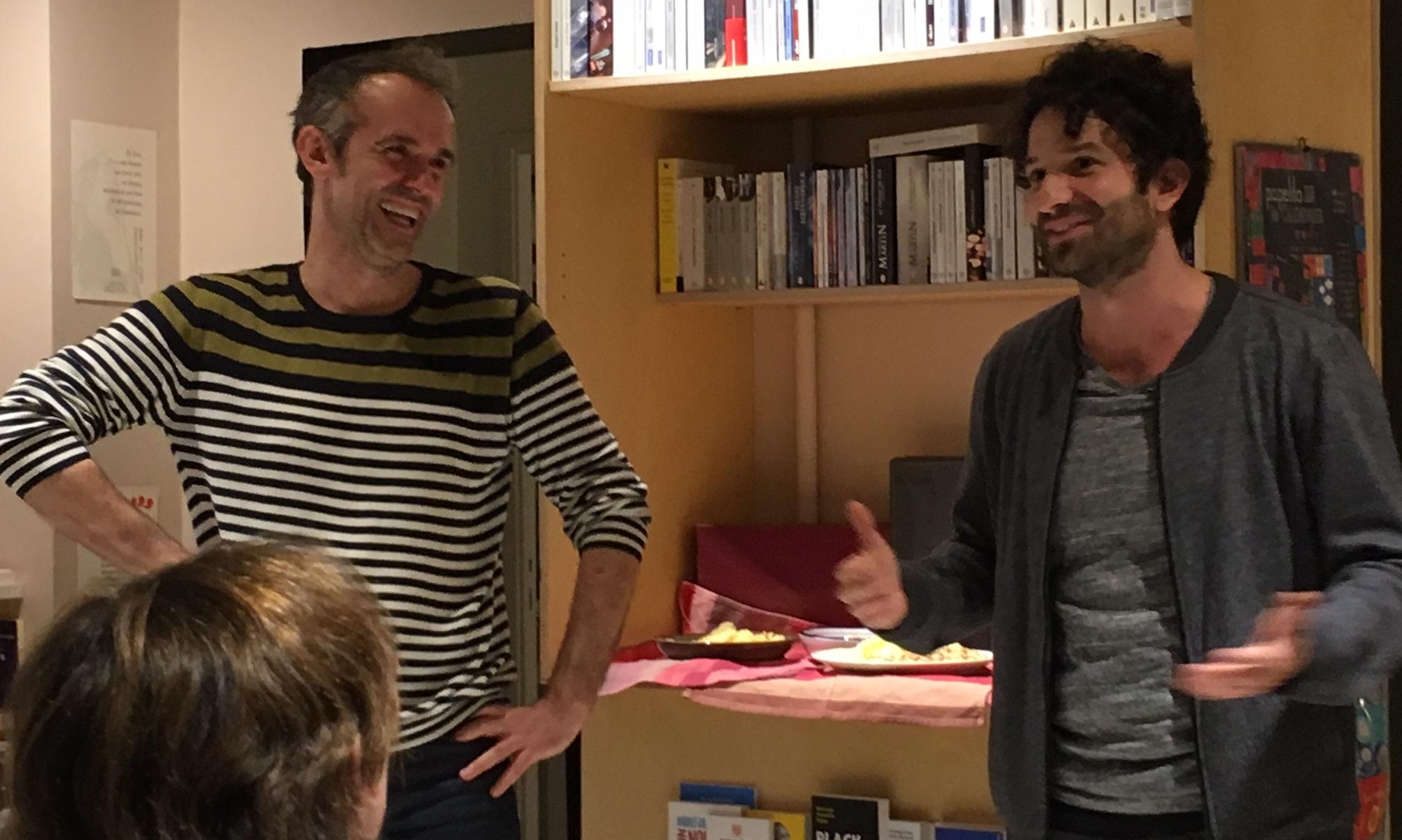 """""""Tête de lecture"""" avec Miguel BONNEFOY © cie Tête chercheuse"""