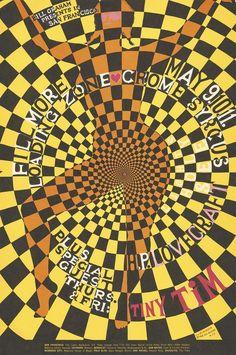 Cartel original de aquellos tres conciertos.