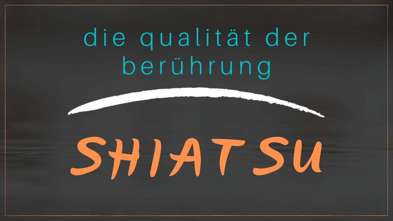 Shiatsu - Massage und Druckpunkte für den Hausgebrauch