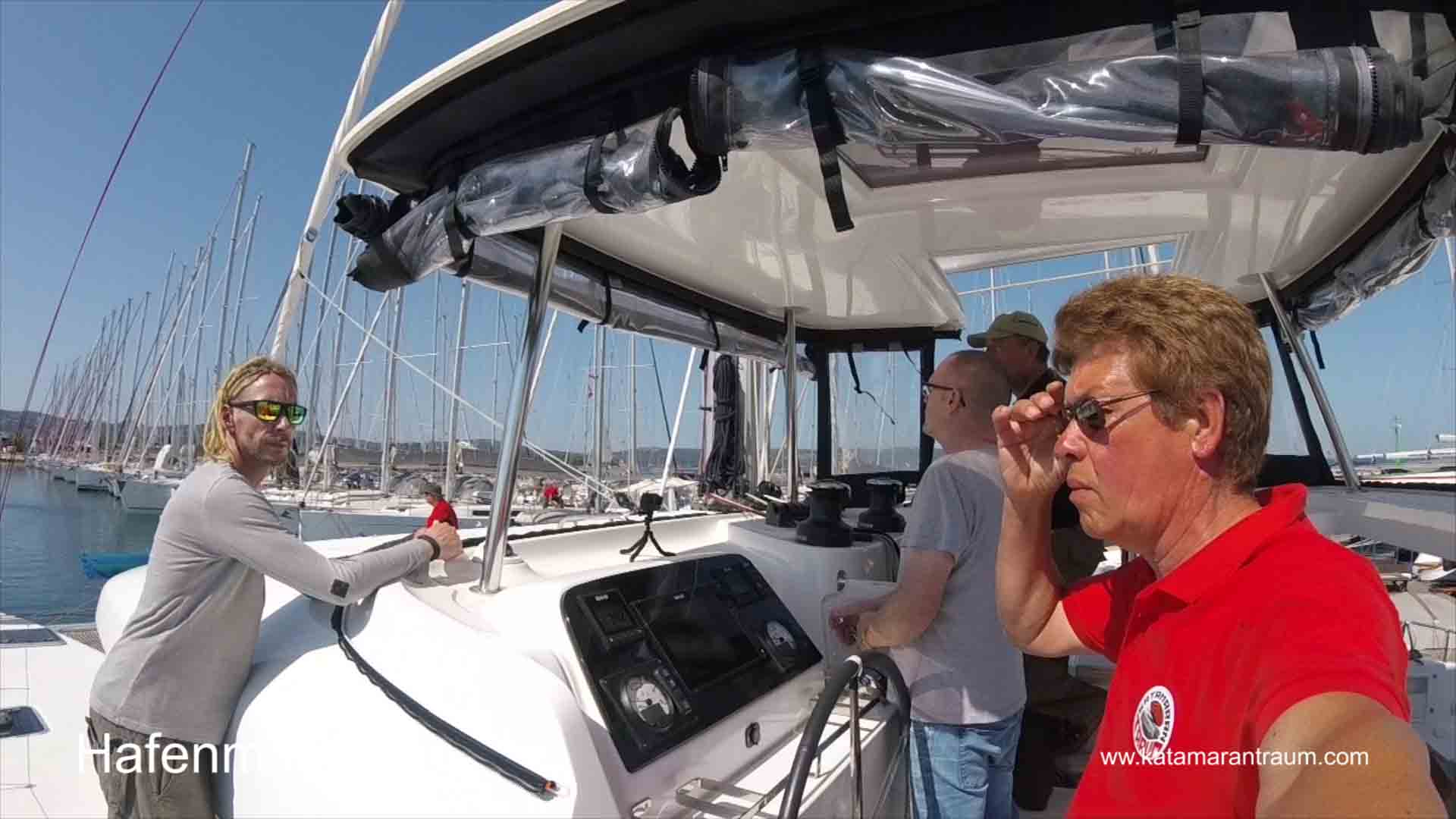 Catamaran Training with Lagoon 42 JANNY - and Skipper / Owner Jos Wijtenburg