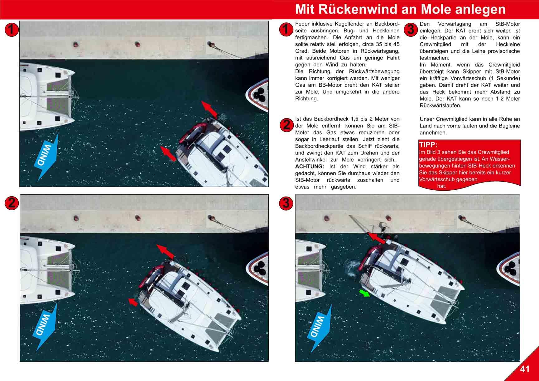Docking Catamaran