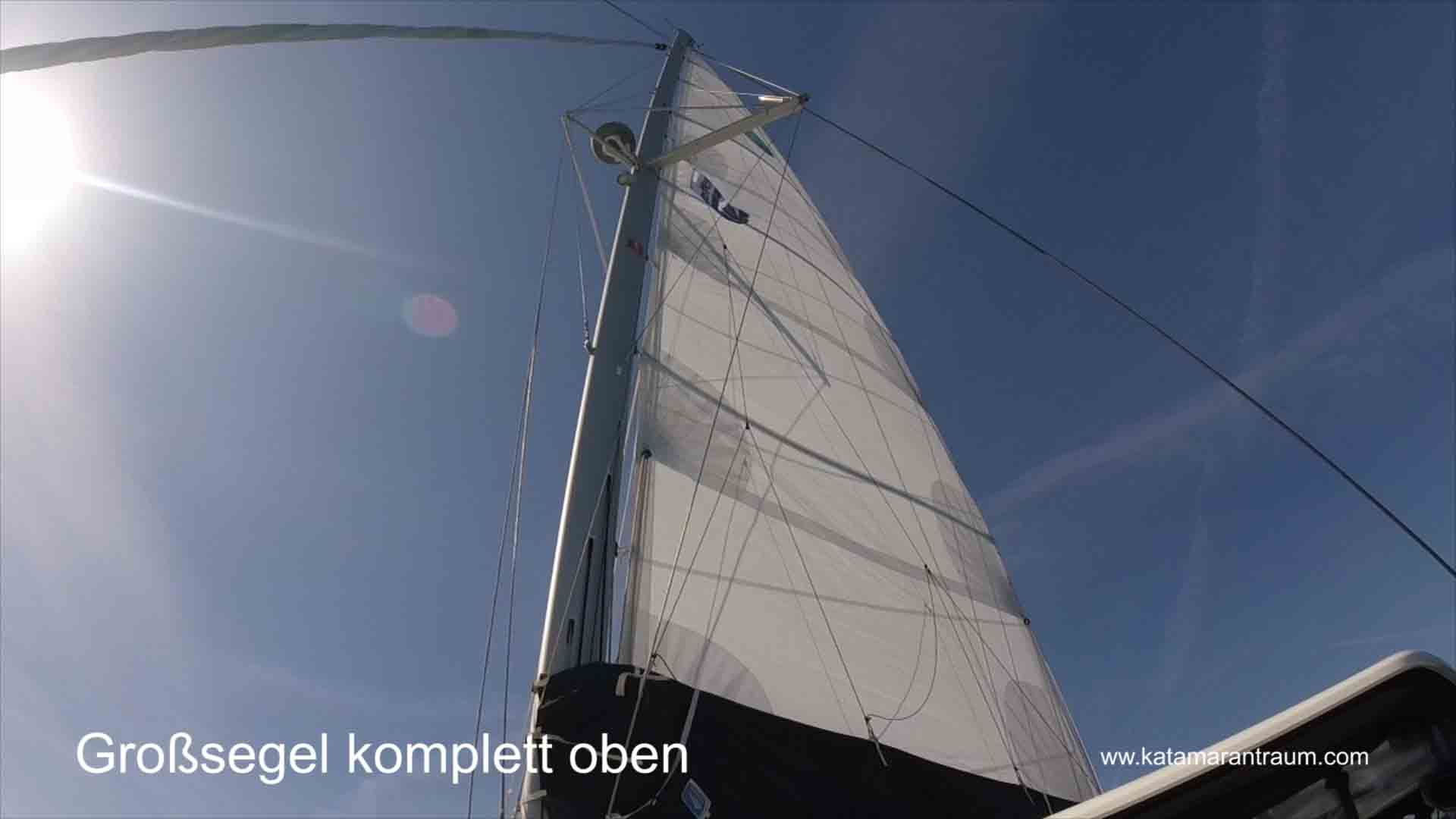 Sailing in catamaran training - sailing is also practiced