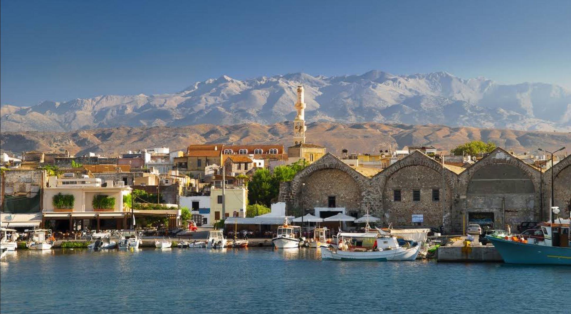 Hafen Chania auf Kreta - Griechenland