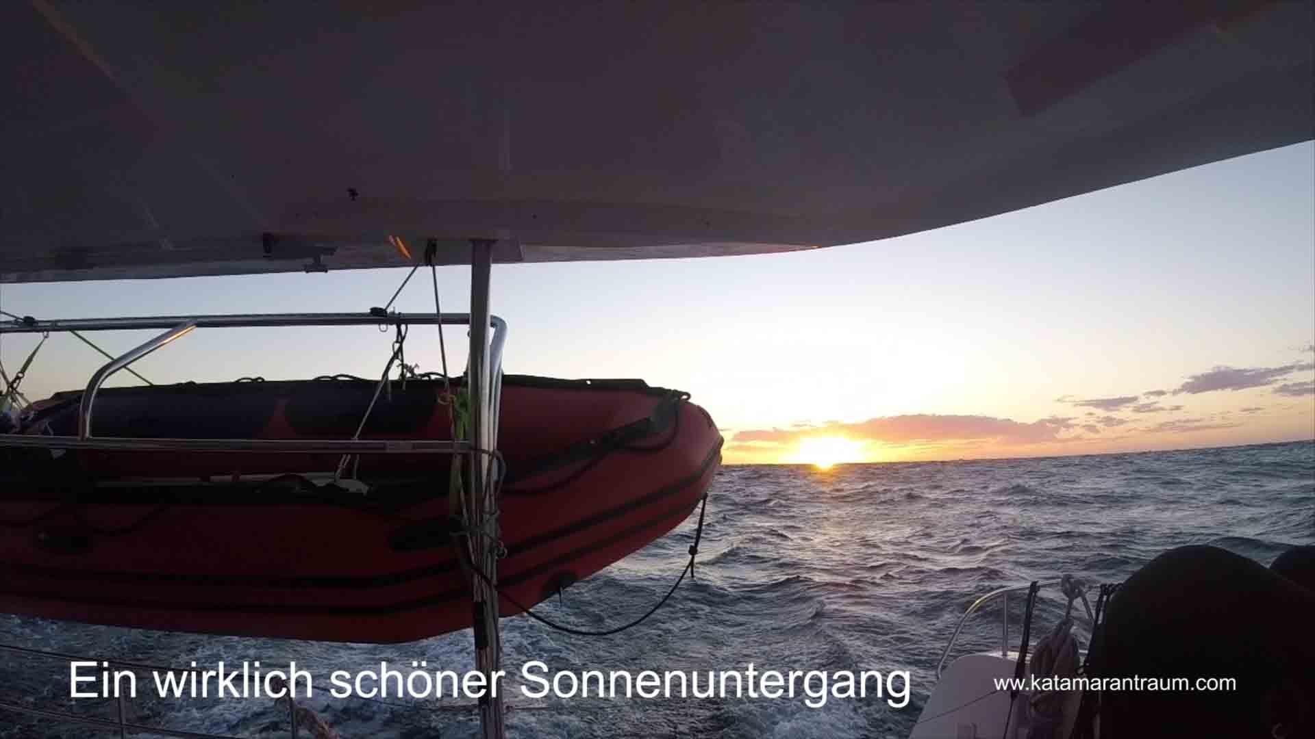 Und Genießen gemeinsam den Sonnenuntergang