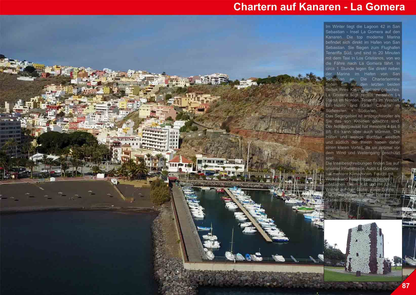 Marina La Gomera - Canary Islands