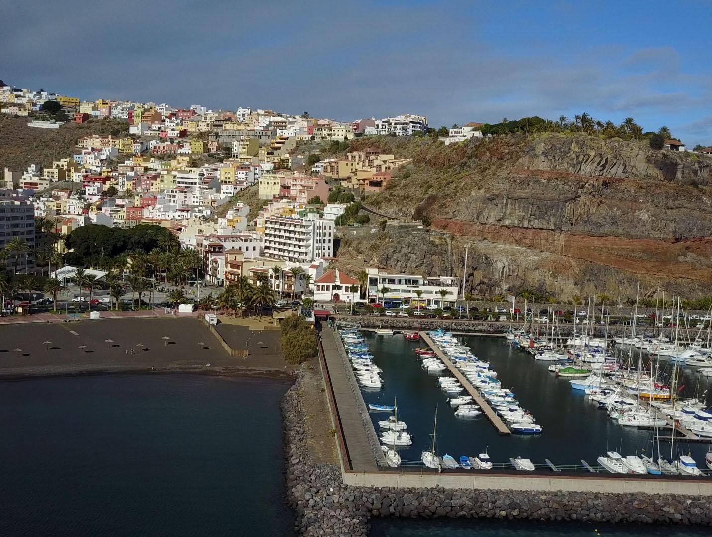 Marina La Gomera: Segelurlaub Zwischenstopp in San Sebastian - La Gomera