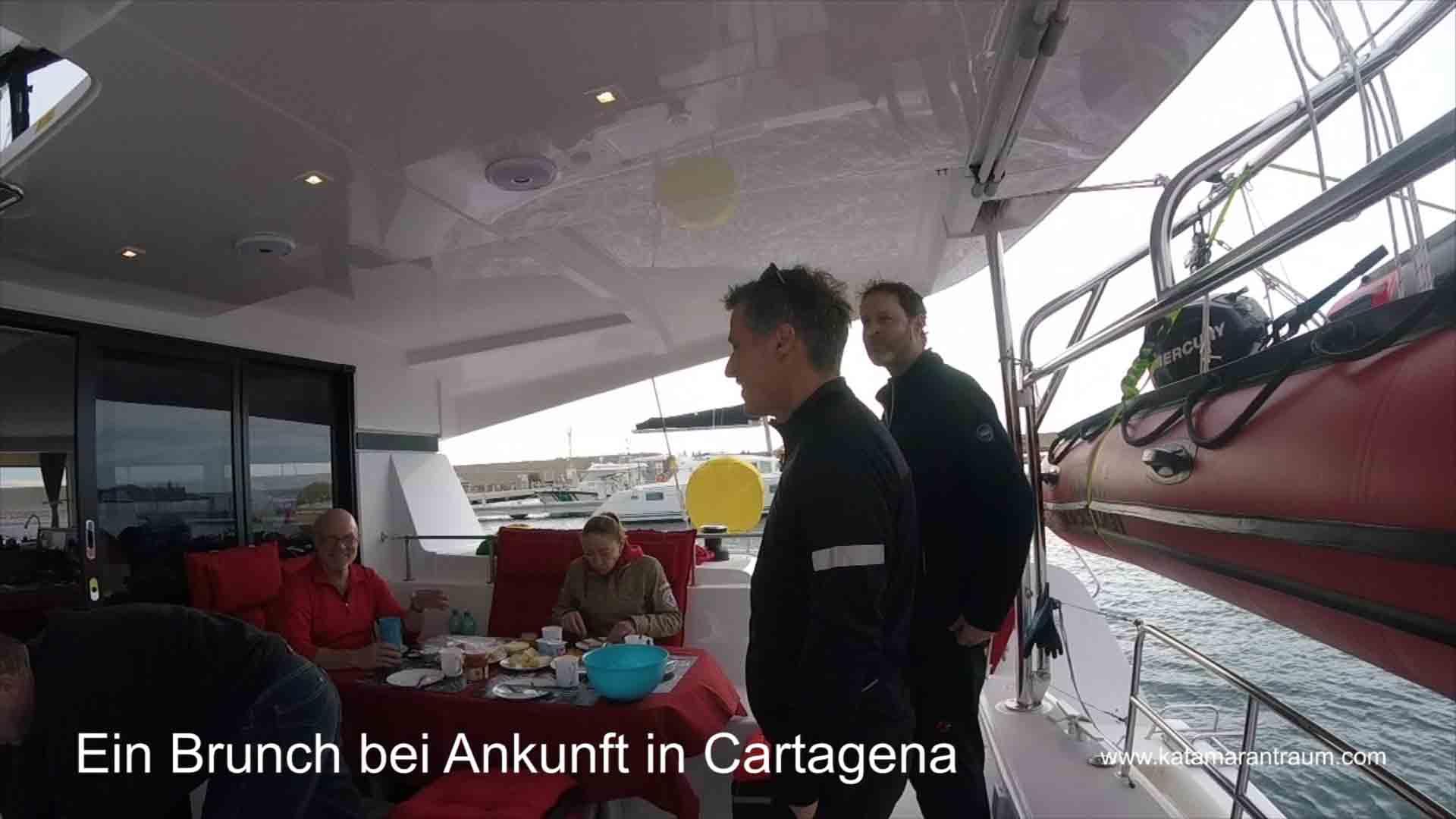 Begrüßung von wiederum neue Hochseesegel - Mitsegeln Gäste Malaga - Ibiza