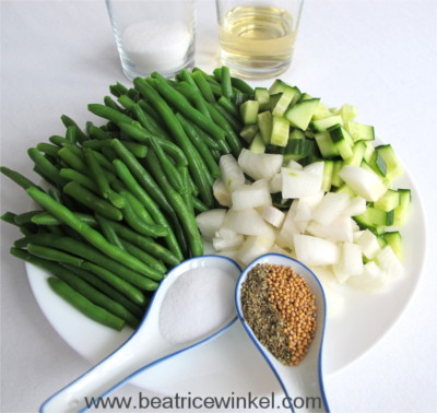 Green Bean Cucumber Ketchup