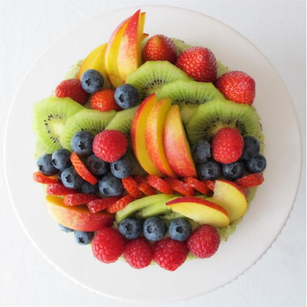 Beatrice Winkel - Trixilies Geburtstags-Obst-Torte