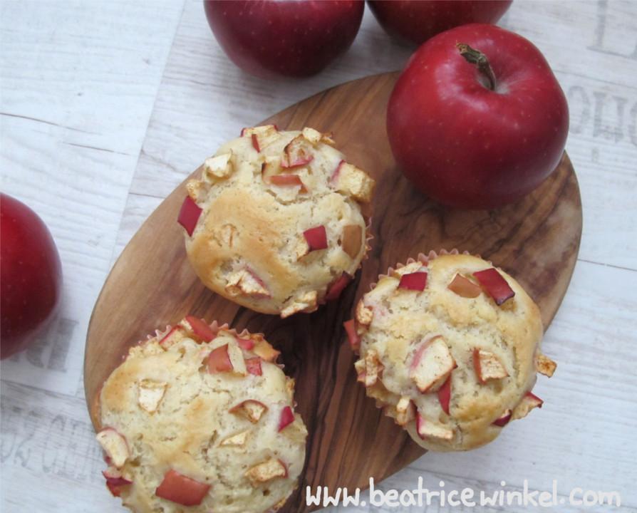 Doppel-Apfel-Muffins