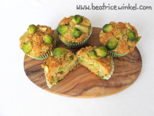 Rosenkohl-Muffins