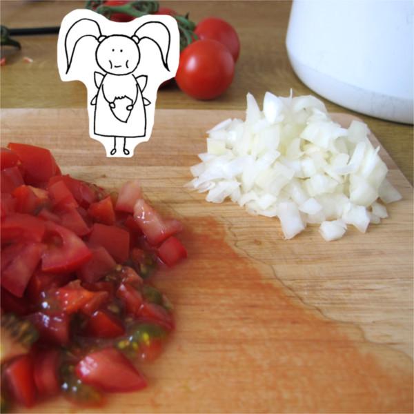 Beatrice Winkel - Trixilie kostet die Tomaten