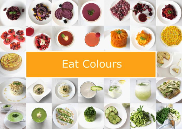 Essensspiel - Farben essen