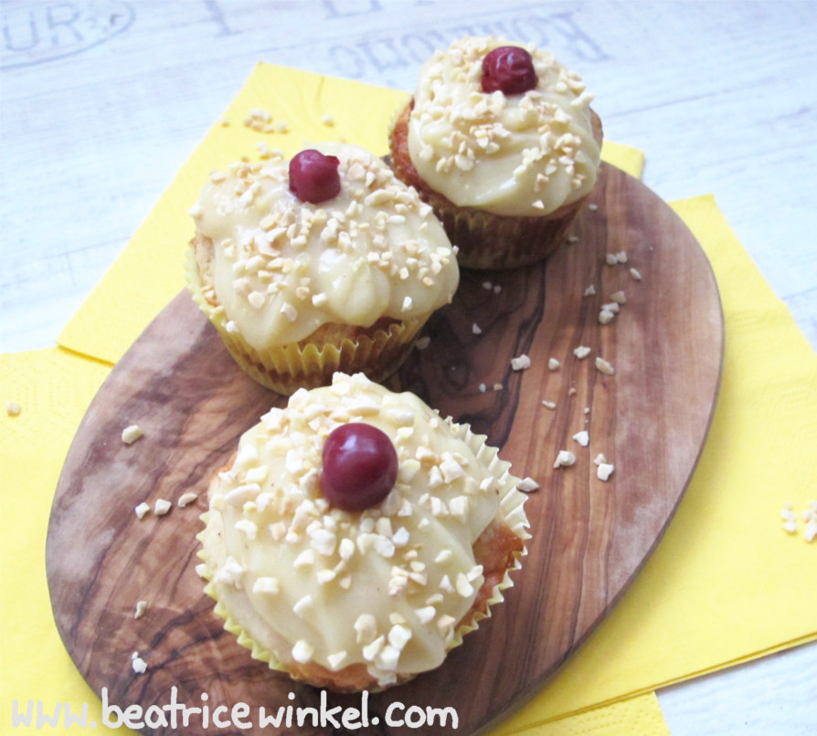 vegane Frankfurter-Kranz-Cupcakes