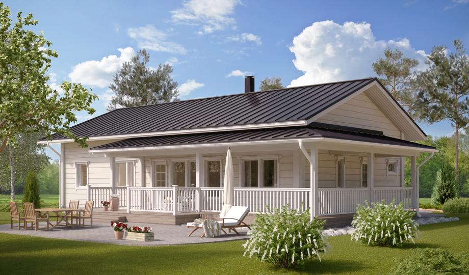 Maison bois Conca