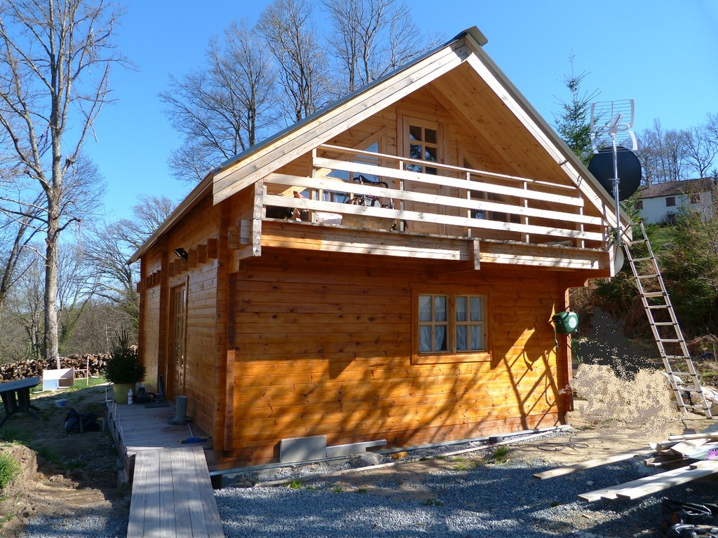 maison bois 96 m²