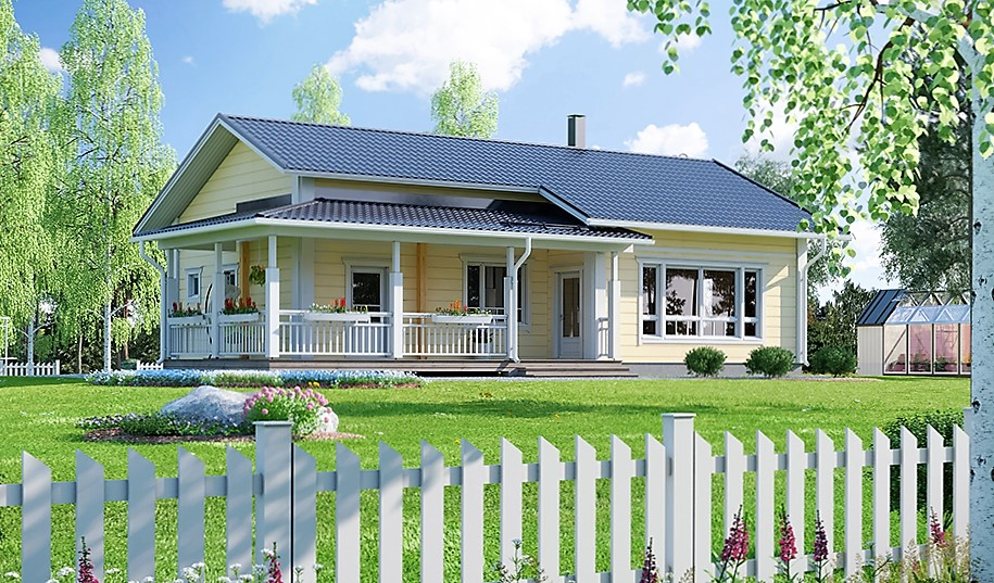 Maison bois Sartene