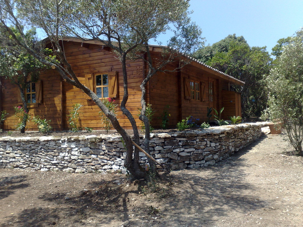 Chalet bois Propriano 70 m²