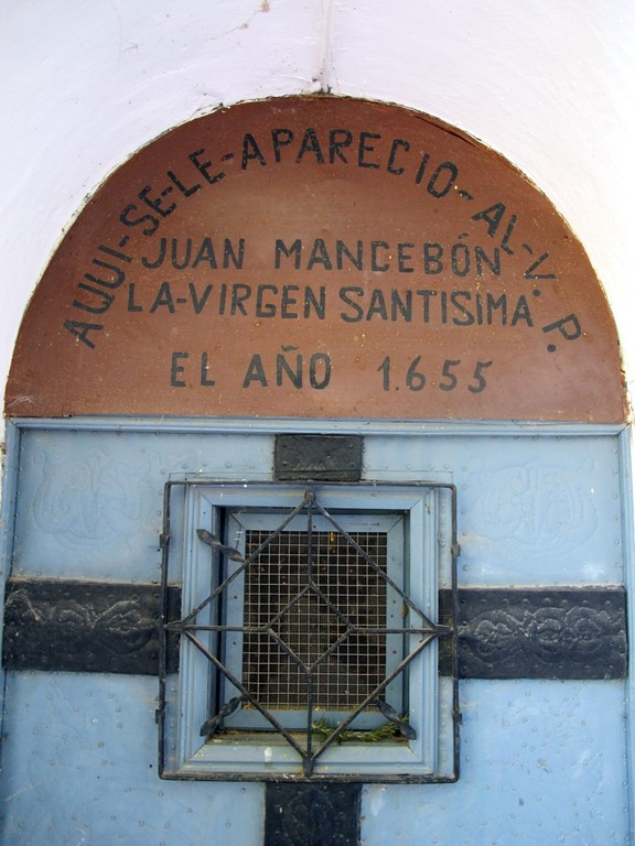 Detalle Capilla P. Juan Mancebón