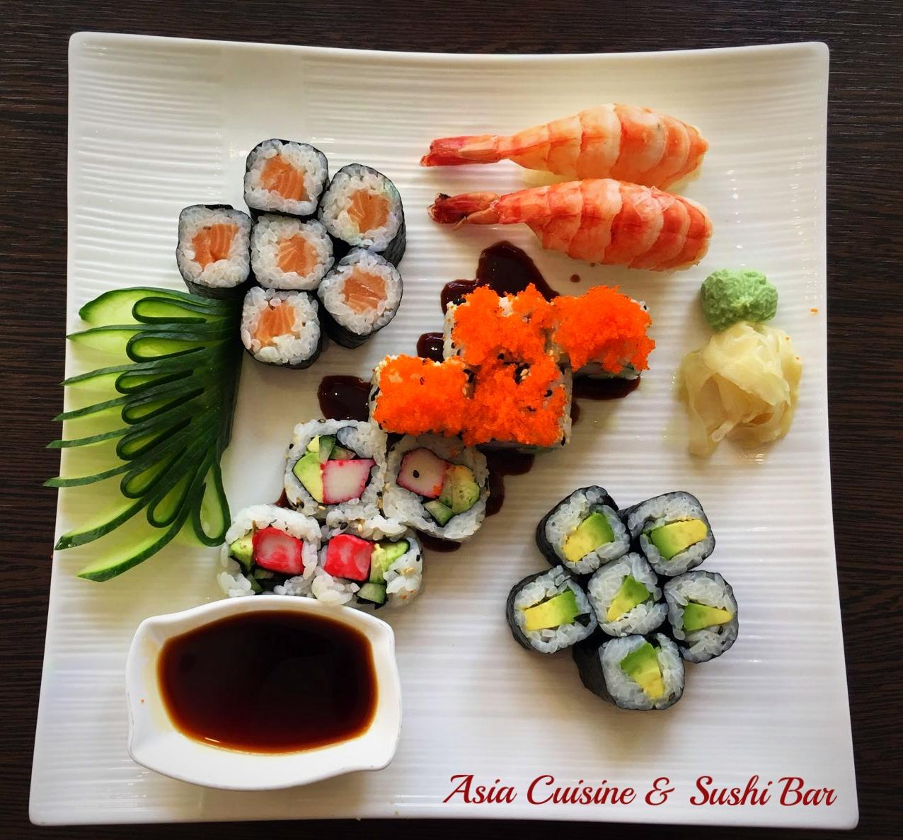 Sushi gemischt