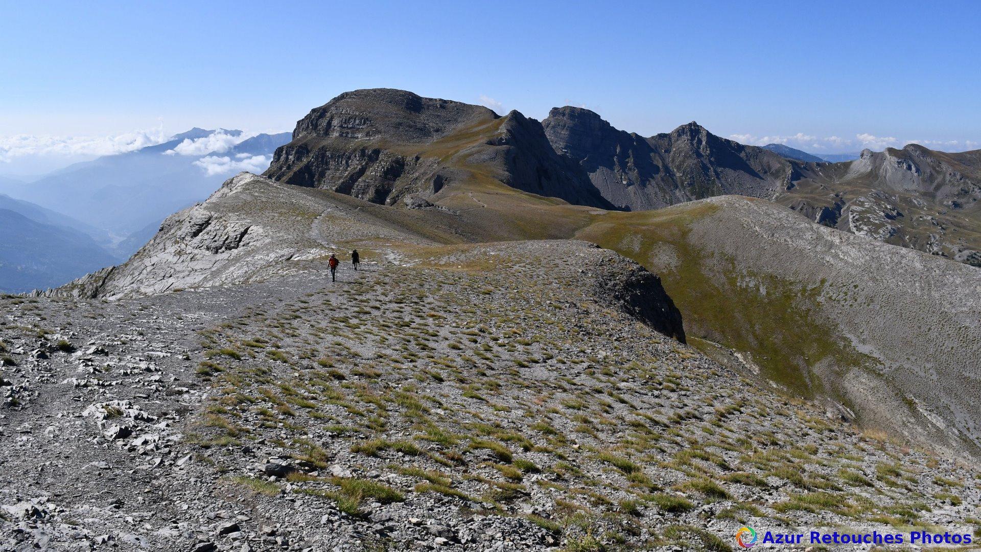 Sommet des Garrets et montagne de l'Avalanche