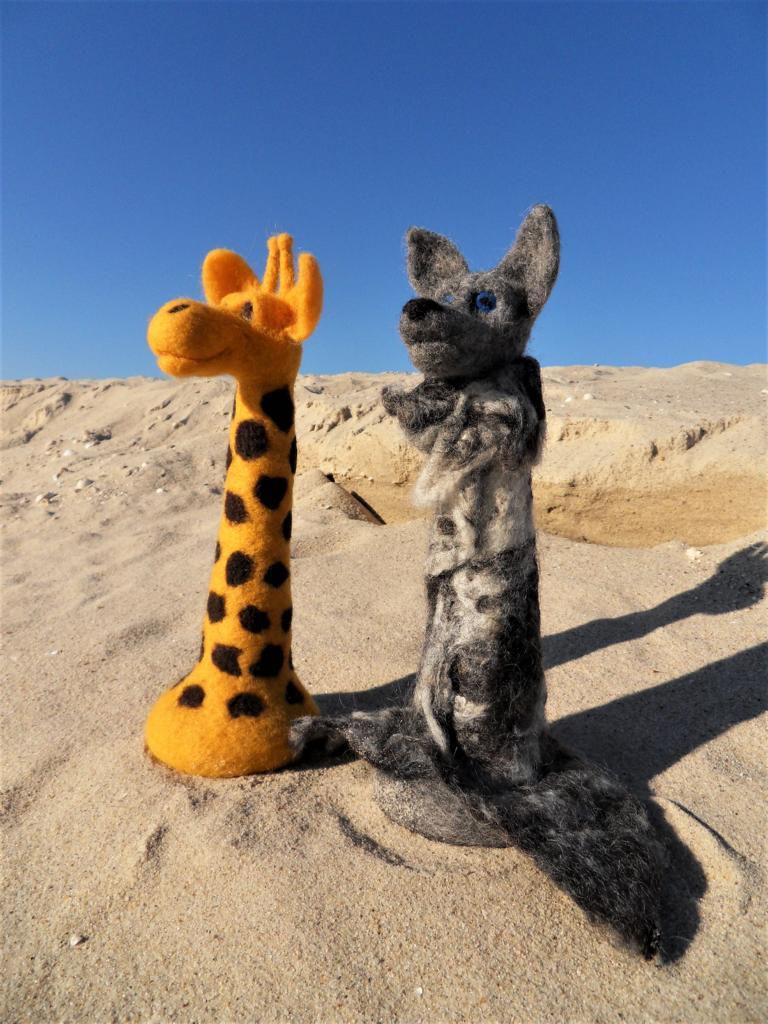 Wolf und Giraffe, GfK