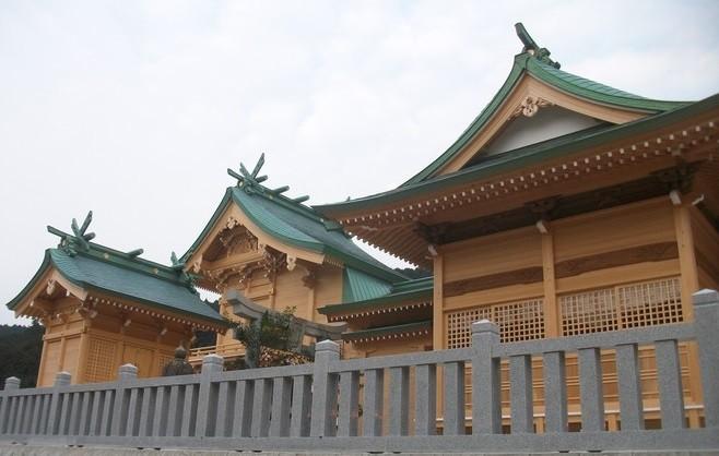 尾塚建設が施工した「高木神社」の写真