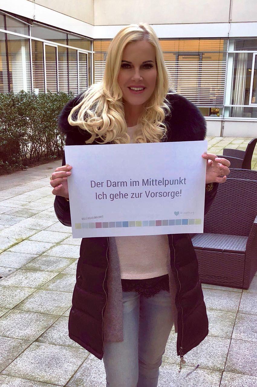 Botschafterin TV Moderatorin Anna Heesch