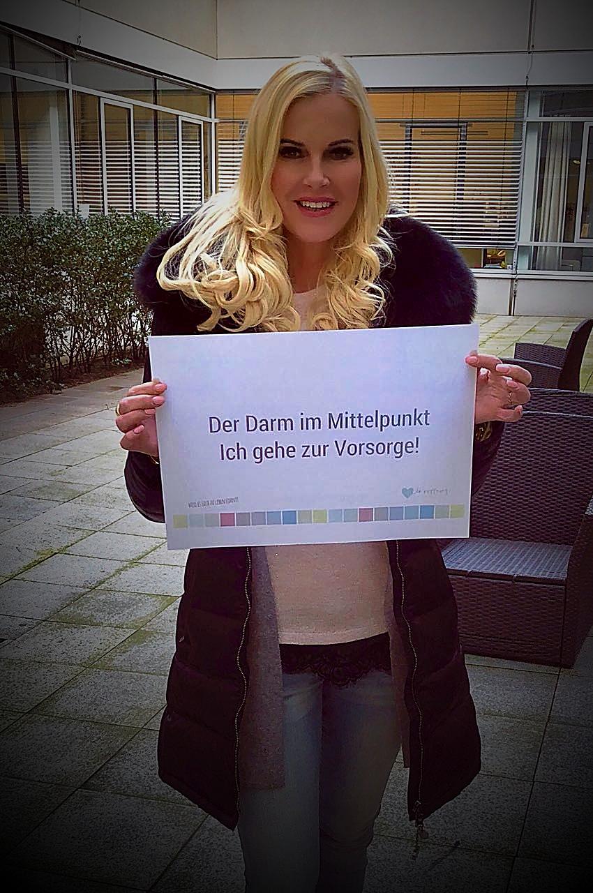 Botschafterin TV Moderatiorin Anna Heesch
