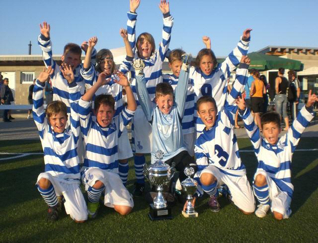 Der MSV Duisburg gewann den Champions-Cup 2010.