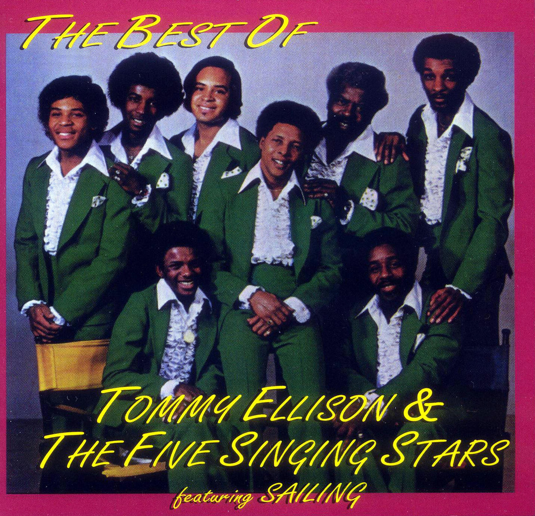 Tommy Ellison and The Five Singing Stars Hard To Get Along - I Want To Be Loved