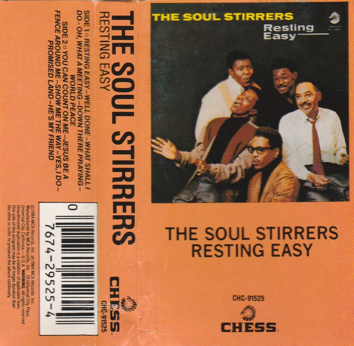 The Soul Stirrers Praying Ground No Need To Worry