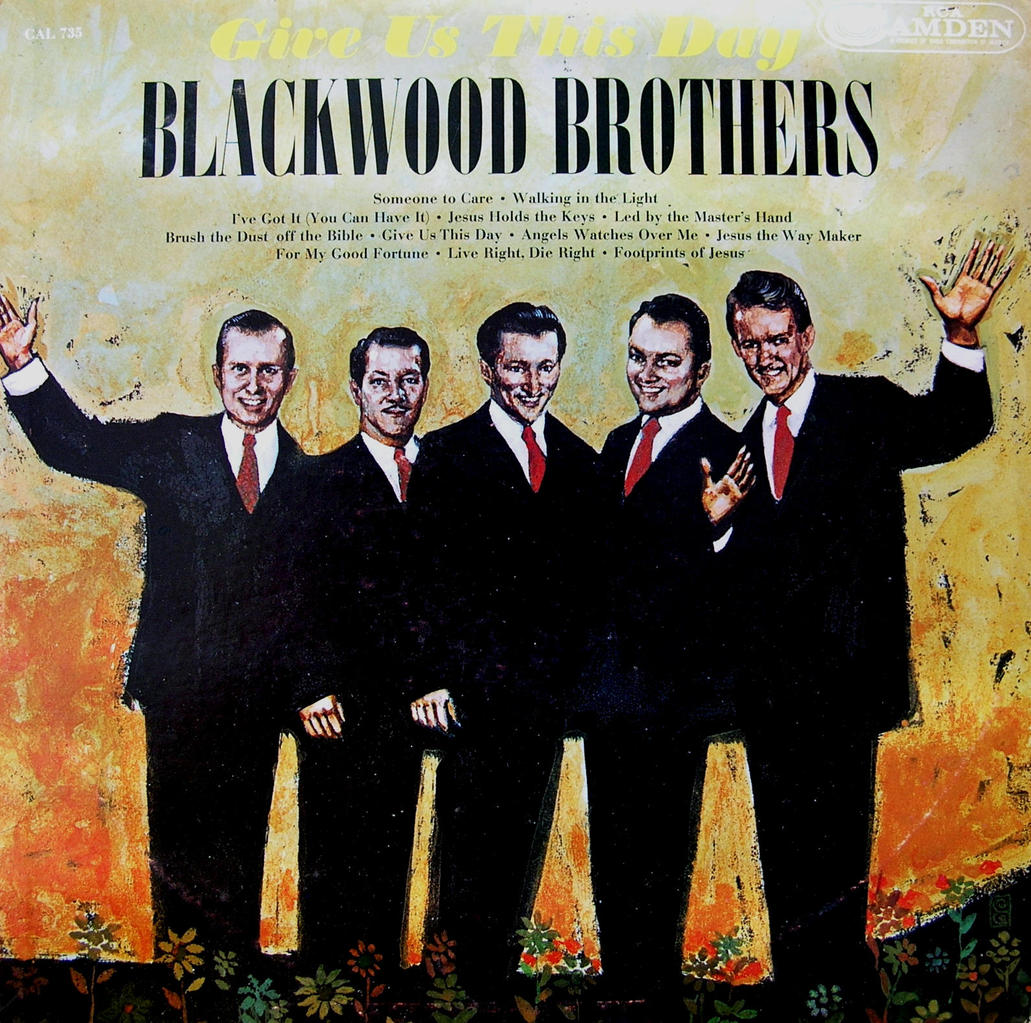 The Blackwood Brothers Quartet With Bass J D Sumner 1954
