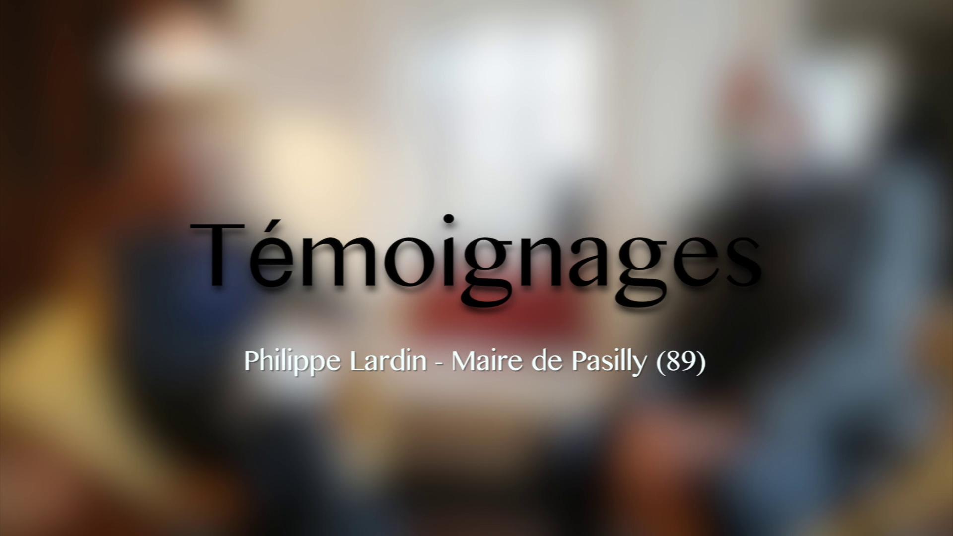 Eoliennes - Témoignage 1/4 - Philippe Lardin - Maire de Pasilly
