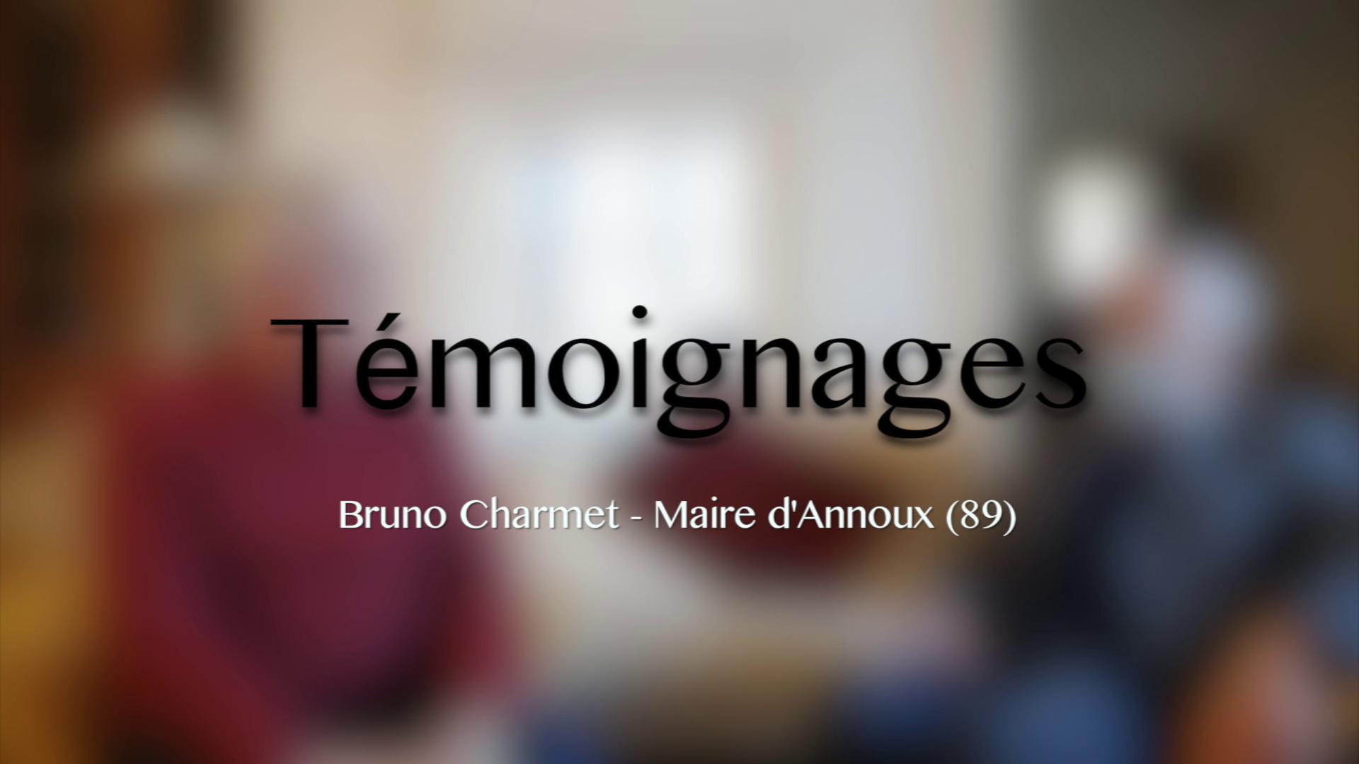 Eoliennes - Témoignage 4/4 - Bruno Charmet - Maire d'Annoux